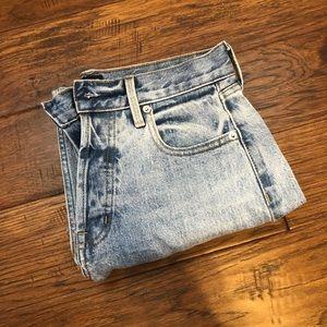 Straight leg Light wash 90' Denim pants